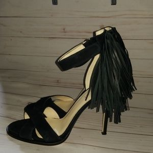 Nine West Hustle Fringed Sandles